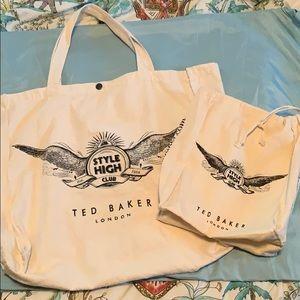 2/$25 Ted Baker Tote Bags Bundle